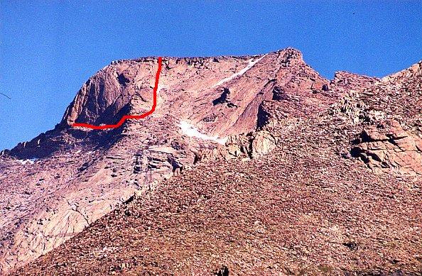 Longs Peak S Last Mile 1839m2